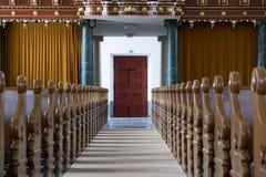 Kircheninnenraumdetail Lizenzfreies Stockbild
