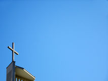 Kirchenkreuz Stockfoto