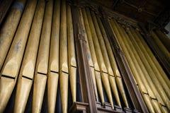 Kirchenorgel Lizenzfreie Stockbilder