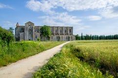 Kirchenruinen Sans Galgano in Siena (Toskana - Italien) Lizenzfreie Stockfotografie