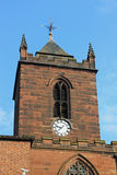 Kirchenuhr Stockfoto