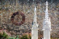 Kirchenuhr Stockfotos