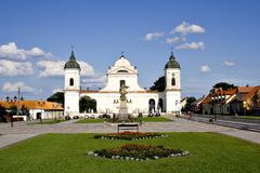 Kirchepark Lizenzfreie Stockfotografie
