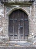 Kirchetür lizenzfreies stockbild