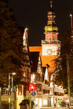 Kirchheim Teck τη νύχτα Στοκ εικόνα με δικαίωμα ελεύθερης χρήσης