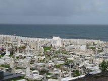 Kirchhof in altem San Juan, Puerto Rico stockbild