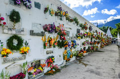 Kirchhof, Antigua, Guatemala Lizenzfreie Stockfotos