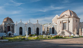 Kirchhof in Bonifacio Stockbild