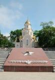 Kirchhof der roten Armee Stockfoto