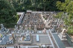 Kirchhof herein Chion-im Schrein, Tempel in Higashiyama-ku, Kyoto, Japan Hauptsitze des Jodo-shu stockbild