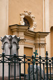 Kirchhof nahe dem Peter und Paul Fortress in St Petersburg, Stockbild