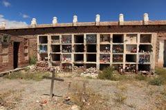 Kirchhof in Nord-Argentinien Lizenzfreies Stockbild
