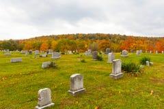 Kirchhof in Pennsylvania Stockfotografie