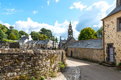 Kirchhof und Abtei von Daoulas, (Frankreich) Lizenzfreies Stockfoto