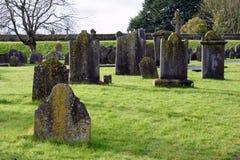 Kirchhof von altem Irland Stockbild