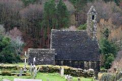 Kirchhof von altem Irland Lizenzfreie Stockfotografie