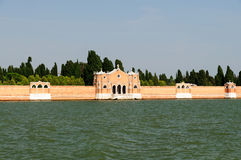 Kirchhof von Venedig Stockfoto