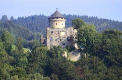 Austria, Ruin. Kirchschlag, Austria - medieval ruin Wildberg near Linz in Upper Austria Stock Photo