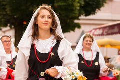 Kirchtag procession Royalty Free Stock Photos