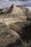 Kirchturm Butte auf der Pawnee-Staatsangehörig-Wiese Lizenzfreie Stockfotos