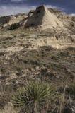 Kirchturm Butte auf der Pawnee-Staatsangehörig-Wiese Lizenzfreies Stockfoto