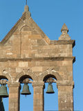 Kirchturm und Glocken Lizenzfreies Stockbild