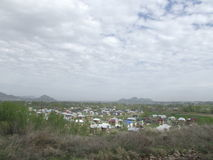 Kirgisistan-Stadt von Osh Stockfoto
