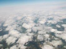Kirgistan Góra Tianshan Widok od samolotu Obrazy Stock