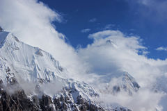 Kirgistan, Khan - Tengri (7, 010 m) Obrazy Stock