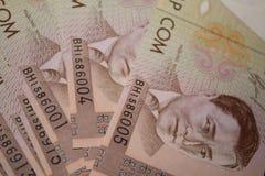 Kirgistan-Som-Rechnungen Lizenzfreie Stockbilder