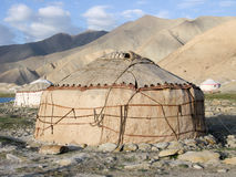 Kirgiz Yurt Stock Photos