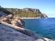 Kiriş - Kemer coast, Turkey Royalty Free Stock Image