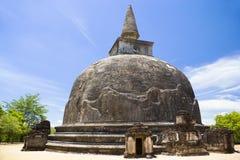 Kiri Vehera, Polonnaruwa, Sri Lanka Stock Image