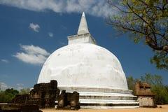 Kiri Vihara Buddhist Stupa in Polonnaruwa, Sri Lanka Royalty Free Stock Images