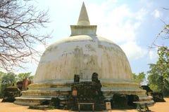 Kiri Vihara en Polonnaruwa Foto de archivo libre de regalías