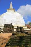 Kiri Vihara i Polonnaruwa Arkivbild