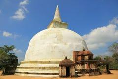 Kiri Vihara i Polonnaruwa Arkivfoto