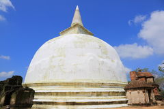 Kiri Vihara i Polonnaruwa Royaltyfri Foto