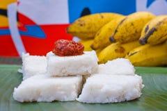 Kiribath, The milk rice is a traditional Sri Lankan food Royalty Free Stock Image
