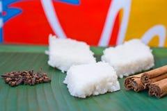 Kiribath, The milk rice is a traditional Sri Lankan food Royalty Free Stock Photos