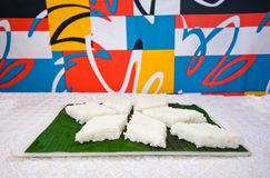 Kiribath, The milk rice is a traditional Sri Lankan food Royalty Free Stock Photos