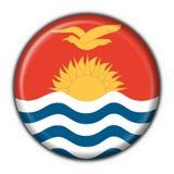 Kiribati button flag round Stock Photography