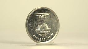 Kiribati 5 Cent stock footage