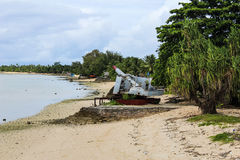 Kiribati Eilandopdracht in de Zomer van 2016 Royalty-vrije Stock Afbeeldingen