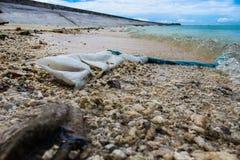 Kiribati Eilandopdracht in de Zomer van 2016 Royalty-vrije Stock Afbeelding