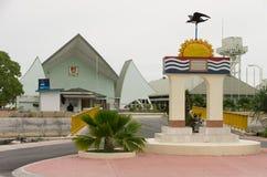 Kiribati het parlementshuis royalty-vrije stock fotografie