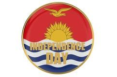 Kiribati Independence Day concept Royalty Free Stock Image