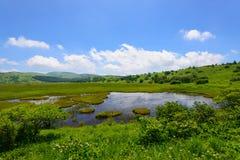 Kirigamine в Nagano, Японии Стоковое Изображение RF