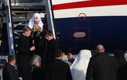 KIRIL, patriarcha MOSKWA I WSZYSTKIE ROSJA wizyty RUMUNIA, Zdjęcia Royalty Free