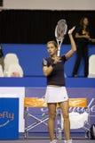 Kirilenko am Show-down von Meister-Tennis 20 D Stockfotografie